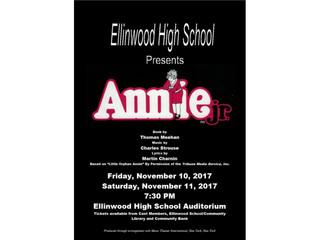 EHS Presents Annie jr.