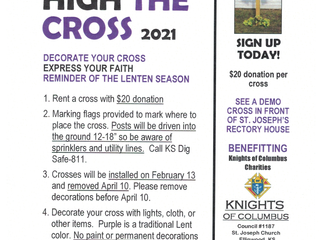Support our Knights of Columbus Council #1187 - Lift High The Cross 2021
