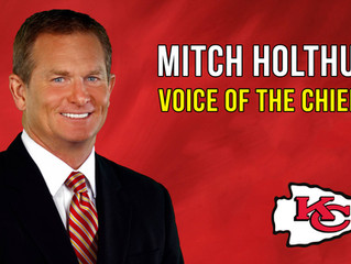 Voice of Kansas City Chiefs Mitch Holthus to Speak in Great Bend June 1st