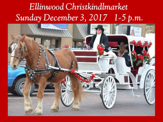 Horse and Carriage Rides Dec. 3rd