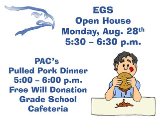 EGS Open House and Pulled Pork Dinner