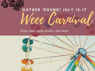 AHF WEEE Carnival July 15-17