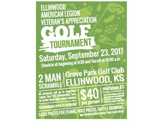 Ellinwood Legion Golf Tournament