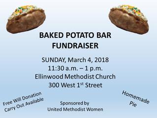 Methodist Church Baked Potato Bar Fundraiser