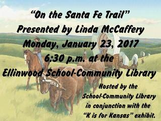 "McCaffery Presents ""On the Santa Fe Trail"""