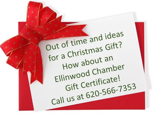 Chamber Gift Certificates Available