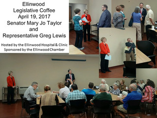 Legislative Coffee Draws Big Crowd