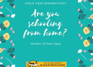 KWEC Field Trip Opportunity Oct. 19