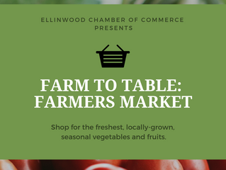 Ellinwood Farmer's Market every Tuesday evening