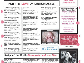 Sauer Chiropractic Newsletter