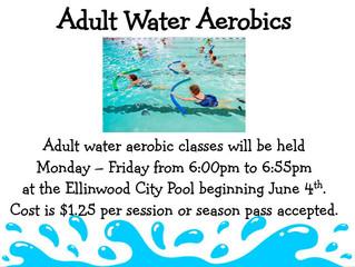 Adult Water Aerobics