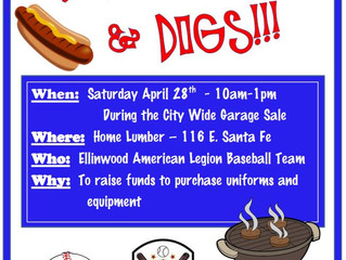 Burgers, Brats, Dogs for Baseball
