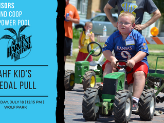 After Harvest Festival Kid's Pedal Pull July 18