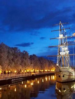 Winter in Klaipeda