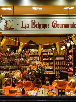 Ein Gaumenschmaus - Belgische Schokolade