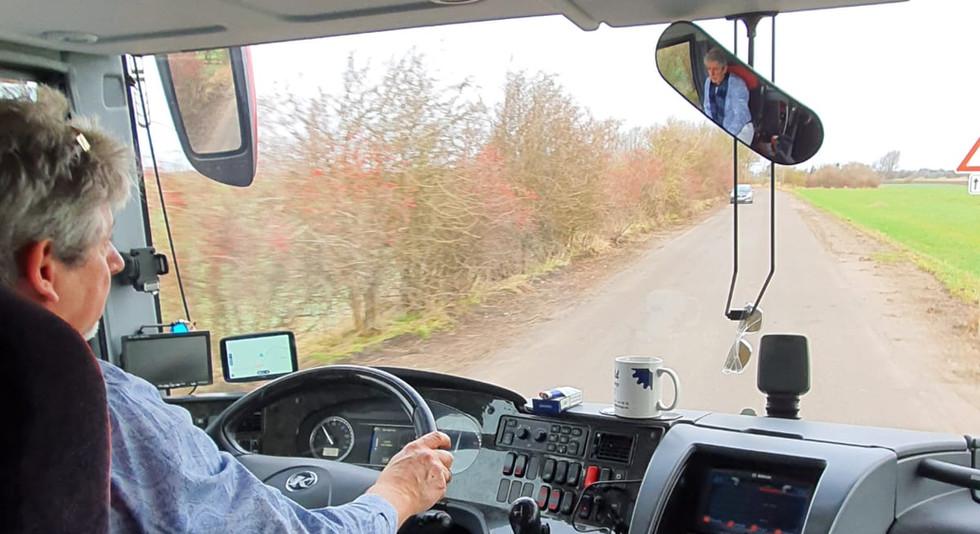 Der Chef fährt selbst im VIP-Liner Bistrobus