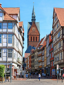 Hannover Holzmarkt in der Altstadt
