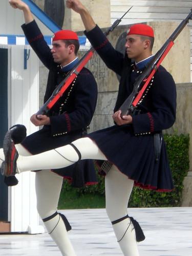 Wachwechsel Parlament Athen