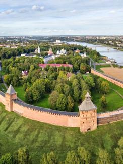 Nowgorod am Fluss Wolchow