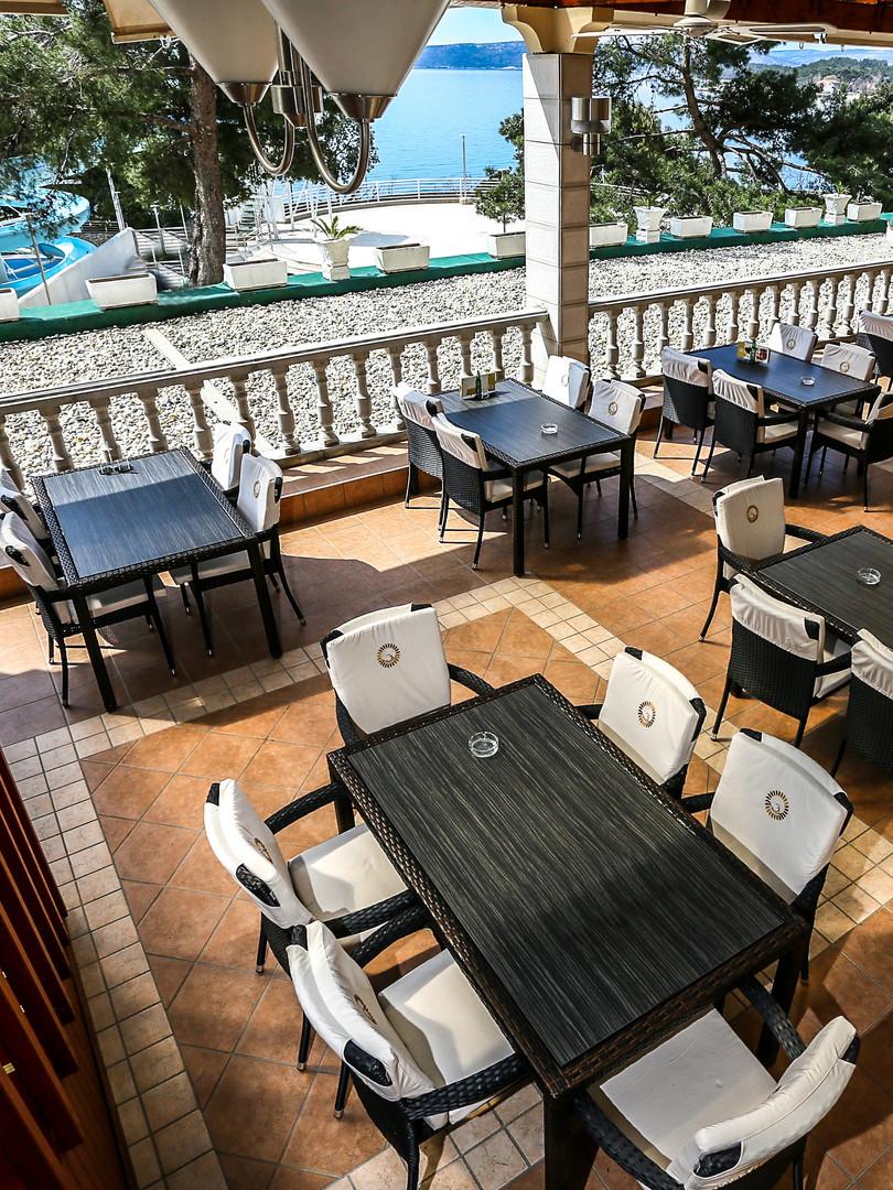 Hotel Drazica Terrasse