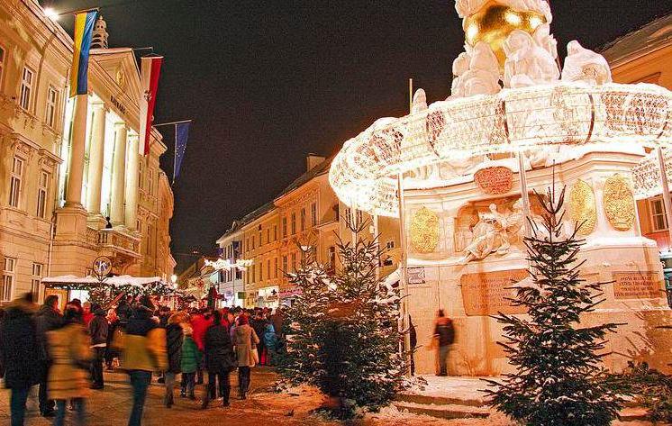 Weihnachtsmarkt in Baden