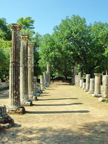 Das alte Olympia