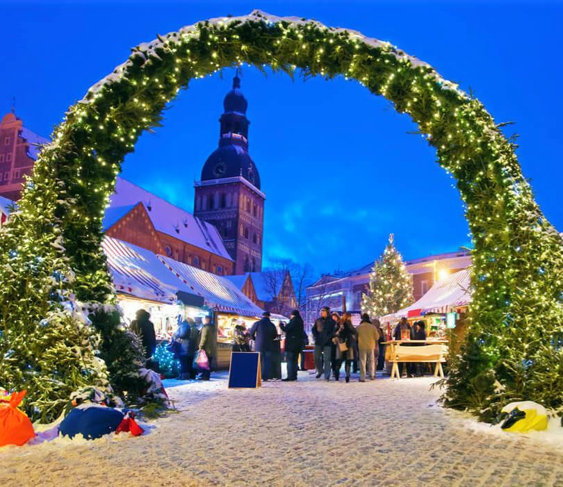 Riga Weihnachtsmarkt 2