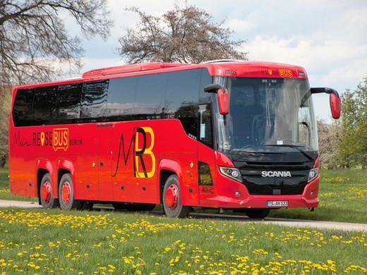 PREMIUM-CLASS Scania Fernreisebus