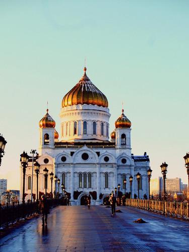 Christ Erlöser Kathedrale Moskau