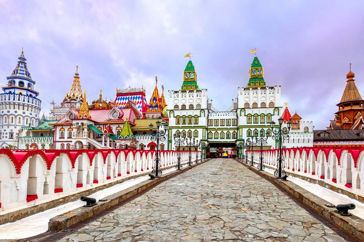 Entdecke Moskau