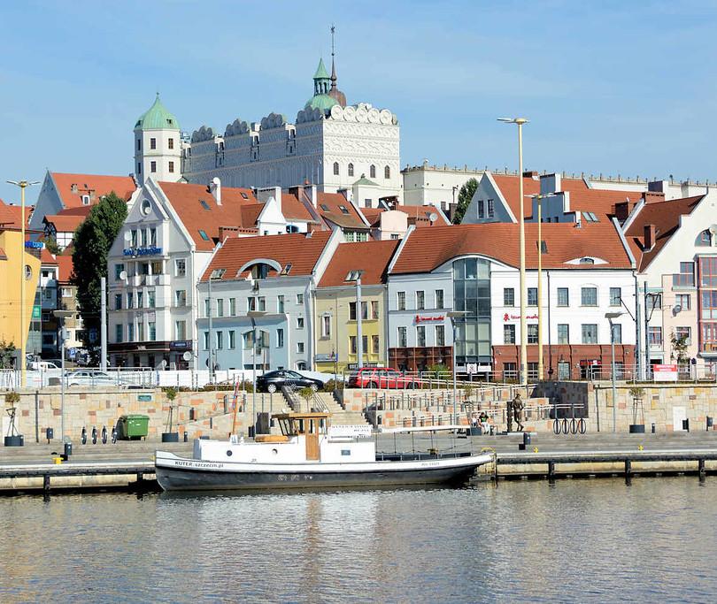 Stettin Uferpromenade
