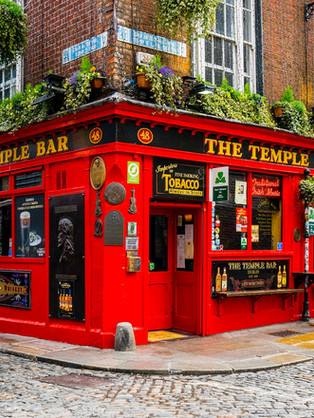 typisches Pub in Irland