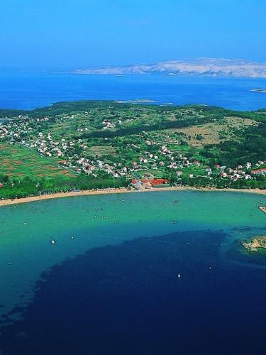 Lopar Panorama auf der Insel Rab