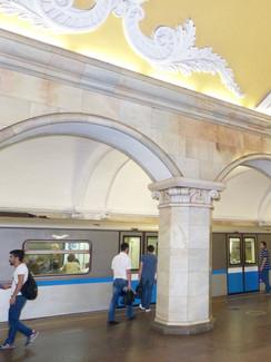 sehenswerte Metro in Moskau