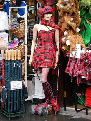 Schaufensterbummel in Edinburgh