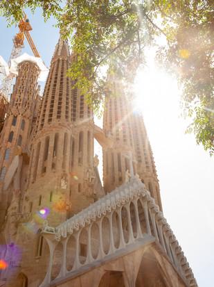 Bis heute unvollendet - Sagrada Familia