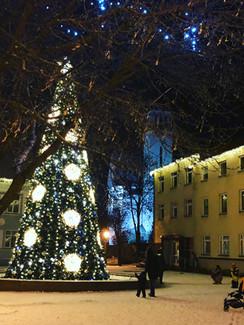 Weihnachtsbaum Klaipeda