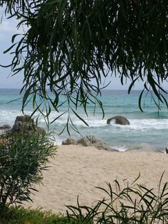 Strandn auf Sardinien