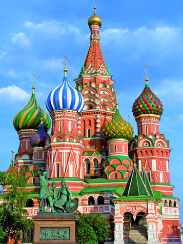 Moskau St. Pokrovsky Kirche