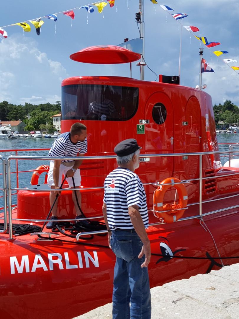 Semi Unterwasserboot
