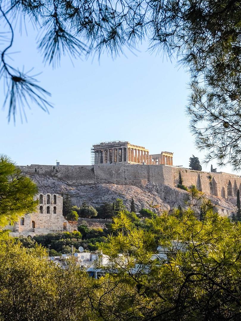 Die Akropolis Athen