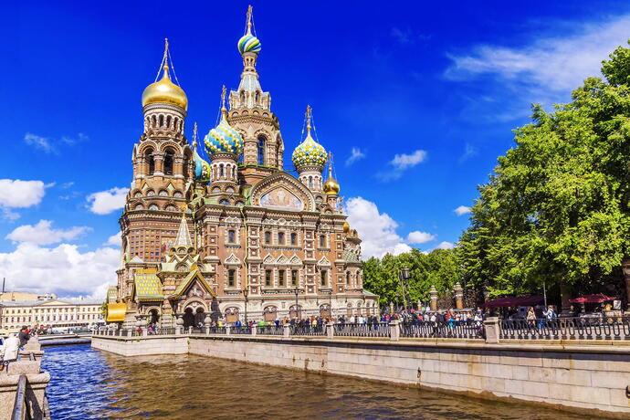 Auferstehungskirche St Petersburg Blutsk