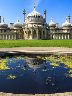 Royal Pavillion in Brighton Gra