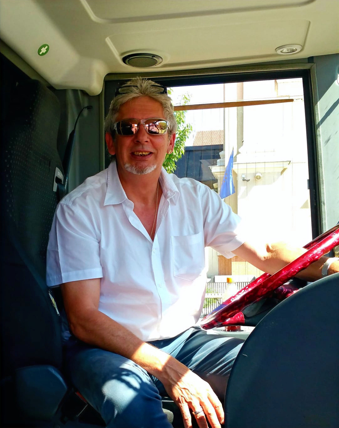 VIP-Liner Chauffeur Peter Weiß