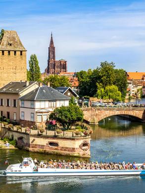 Straßburg in Frankreich