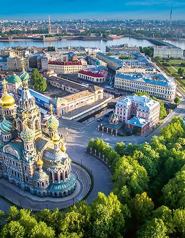 St. Petersburg Luftbild