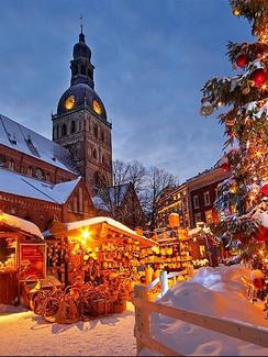 Riga Weihnachtsmarkt