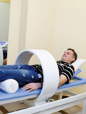 Anwendung Megnettherapie