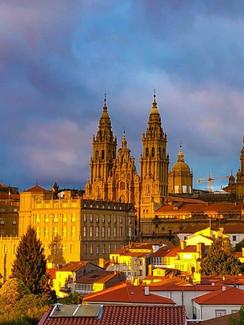 Santiago de Compostela am Jakobsweg