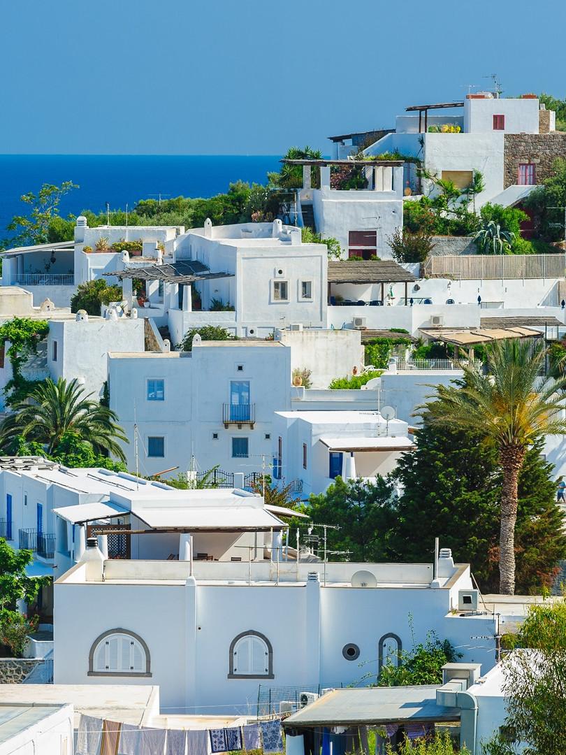 Panorama äolische / liparische Inseln